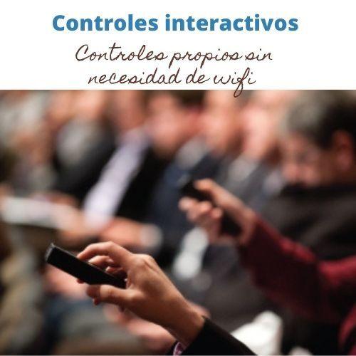 Controles interactivos