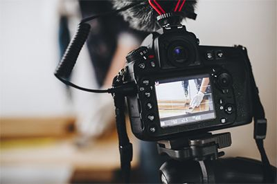 Videos testimoniales, documentales y comerciales.